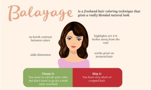 technique flatteuse comment coloration choisir cheveux