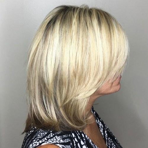 Multi Toned Medium Hair