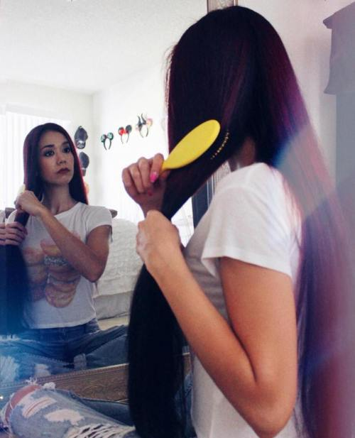 Hair Brushing Process