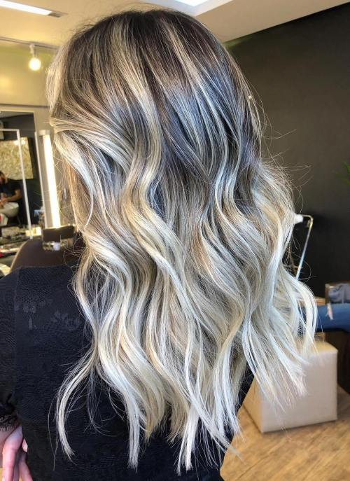 quelle ombre entre difference balayage