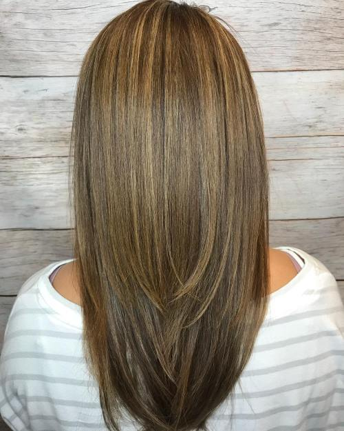 Light Brown Hair With Layers And Highlights