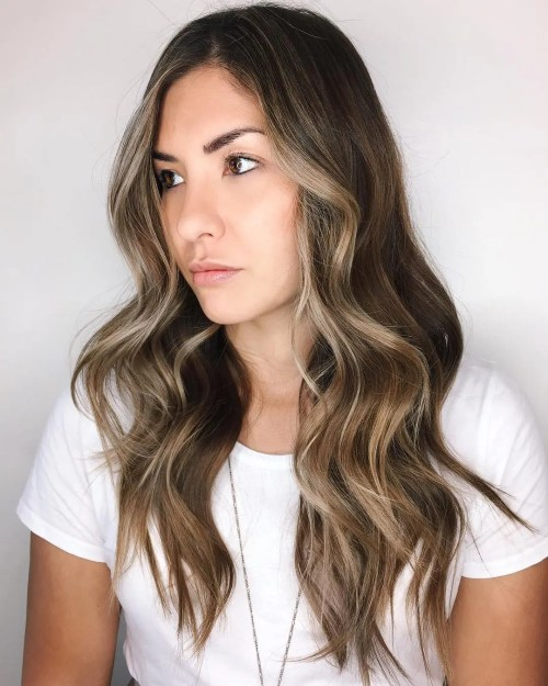 Long Waves With Ash Grey Pieces