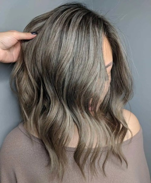 Light Mushroom Brown Hair