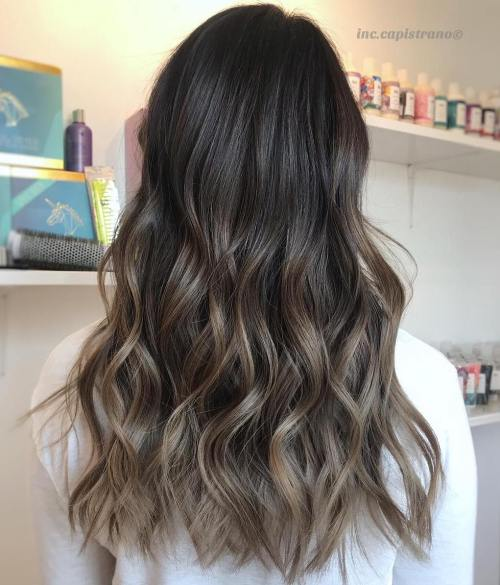 Dark To Mushroom Brown Ombre