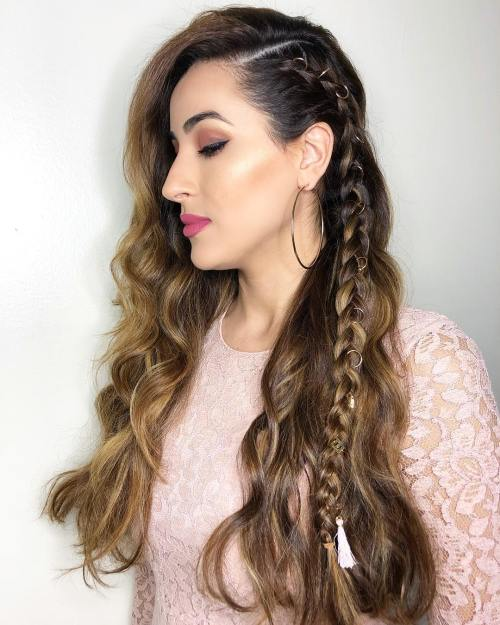 Jeweled Accent Braid