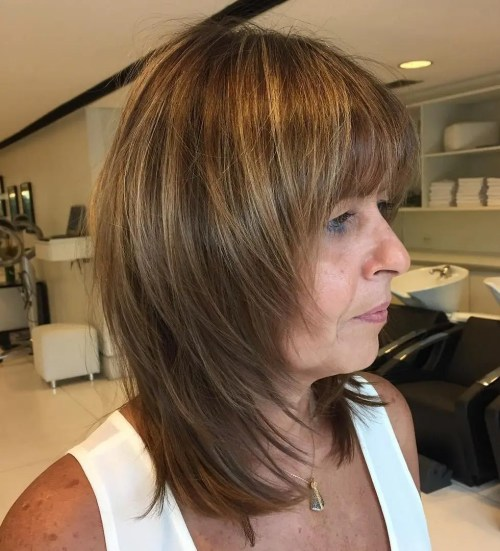 Anti-Ageing Rounded Bangs