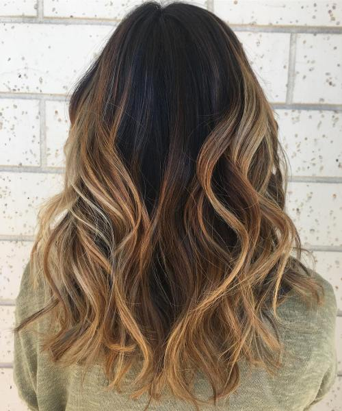 Blonde Chunky Highlights Light Brown Hair