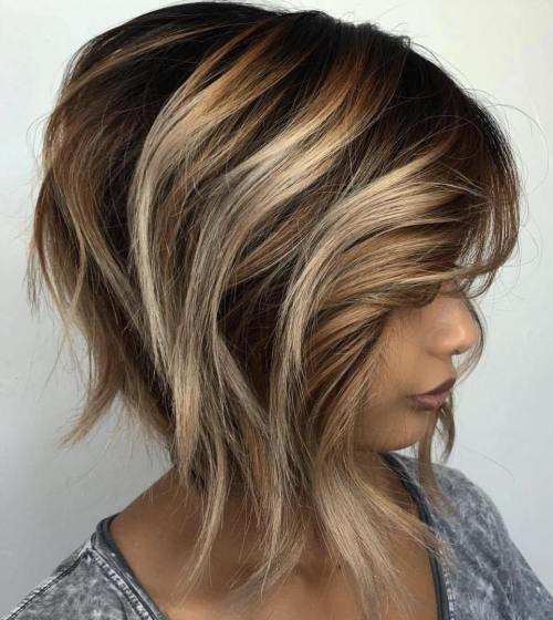 Edgy Brunette Blonde