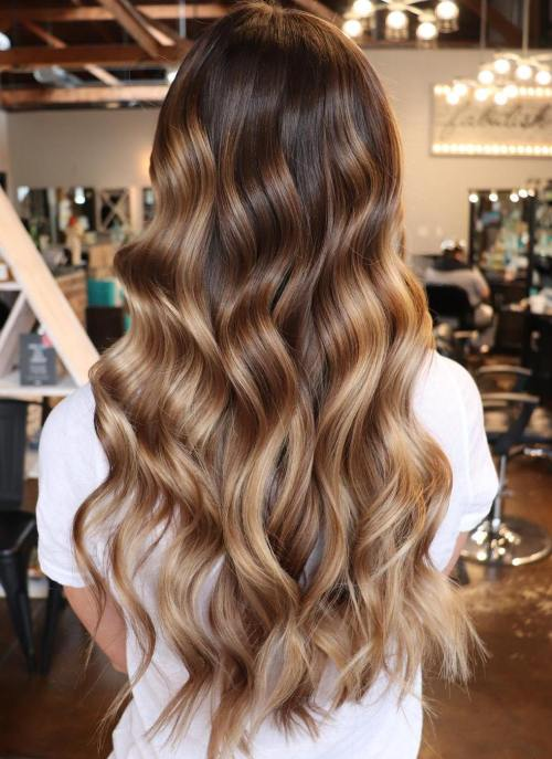 Long Espresso Curls
