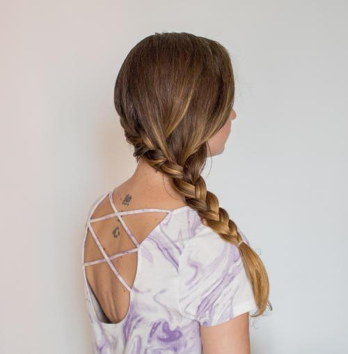 Low Side French Braid