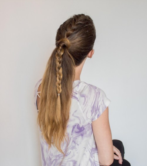 tresse laches facile coiffures