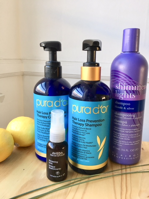 Hair Products for Long Gray Hair