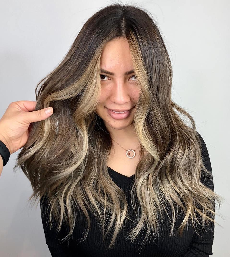 Dark Hair With Highlights Around Face Imagenesmy