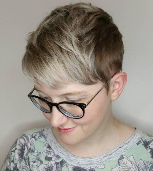 Dirty Blonde Crop Cut
