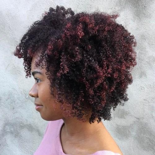 Chin-Length Natural Haircut with Bangs