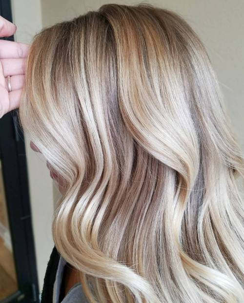 Glazed Healthy Blonde Locks