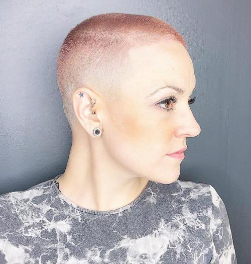 Shaved And Pastel