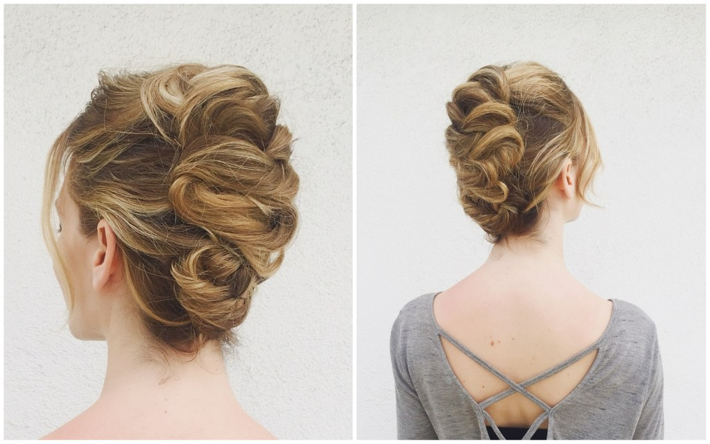 Whimsical Braided Updo