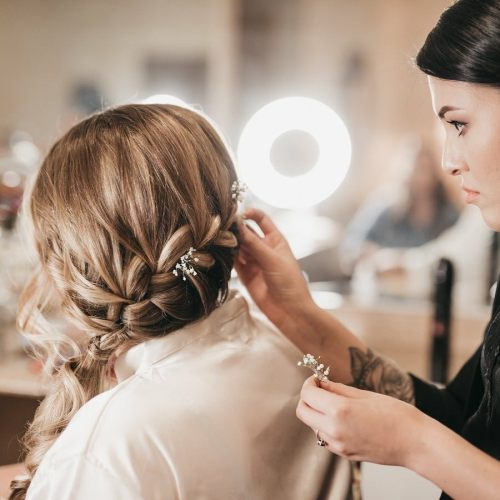 Christi Piontkowski Wedding Hair Stylist
