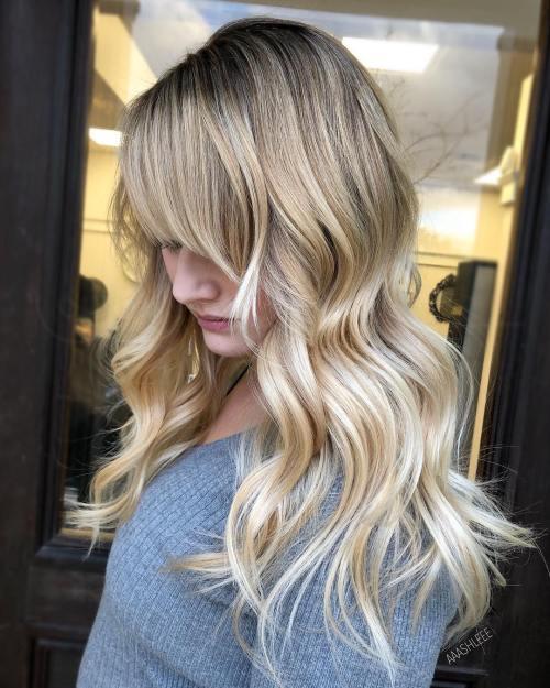 Long Light Honey Blonde Hairstyle