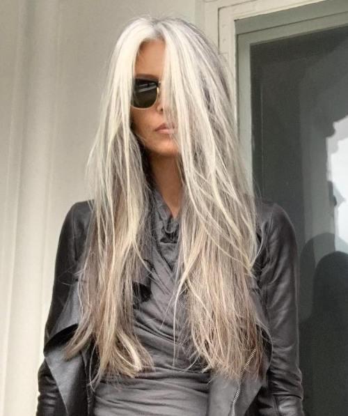 gray hair instagram