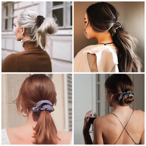 Scrunchie Hair Trend