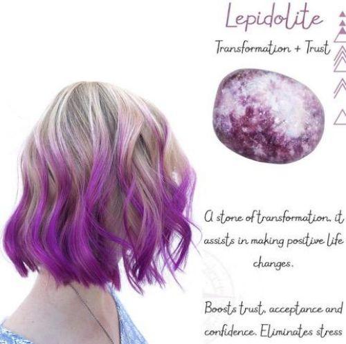 Lepidolite Hair