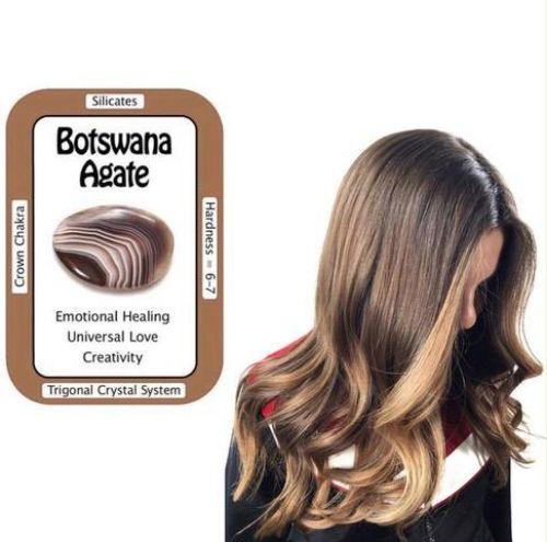 Botswana Agate Hair