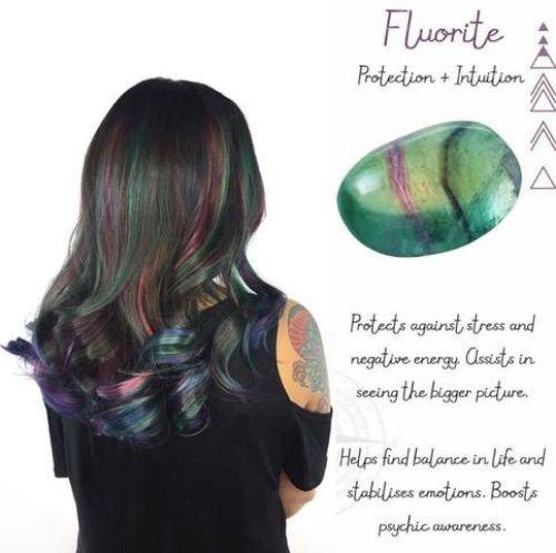 Fluorite Hair