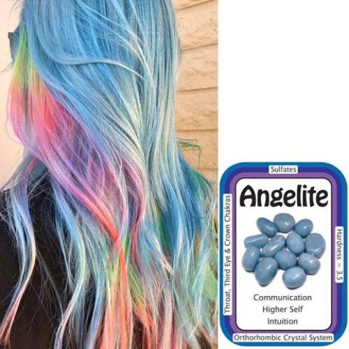Angelite Hair