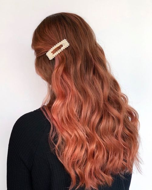 Sweet Tea Fall Haircolor