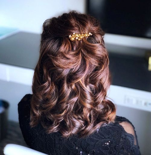 Chestnut Brown Fall Haircolor