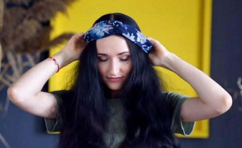 How to Make a Wrapped Headband: Step 2