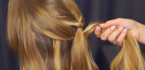 Pull-Through Braid: Step 5