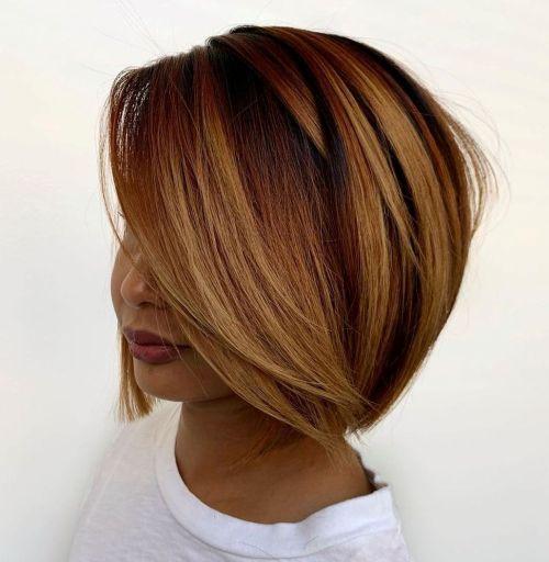 Chin Length Layered Hair