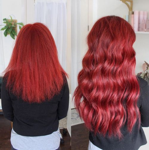 Ariel Red Shiny Extensions