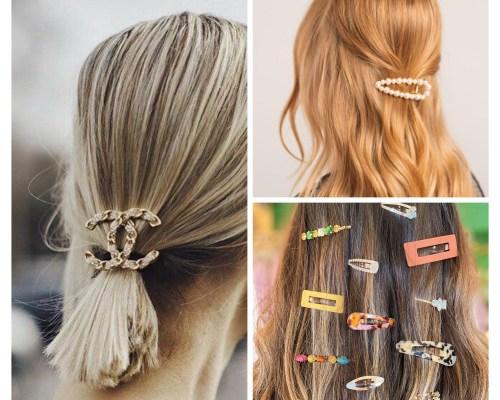 Single Barretes For Hair