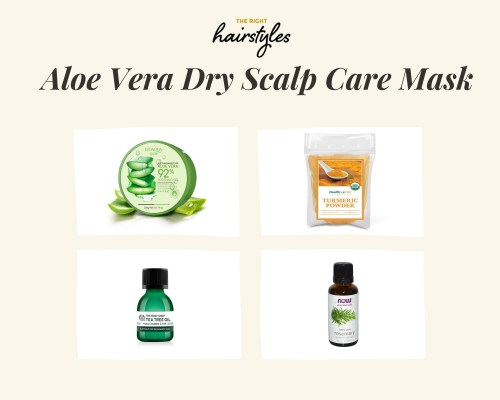 Aloe Vera Dry Scalp Care Mask