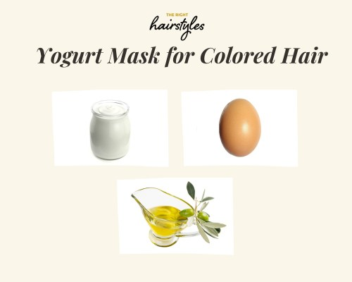 Yogurt Mask for Color Treated Hair
