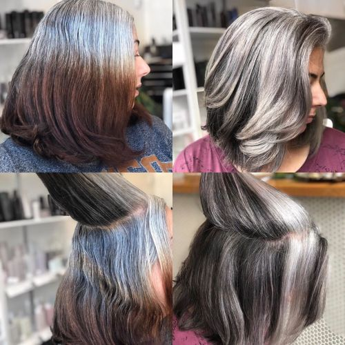 Gray Layered Lob