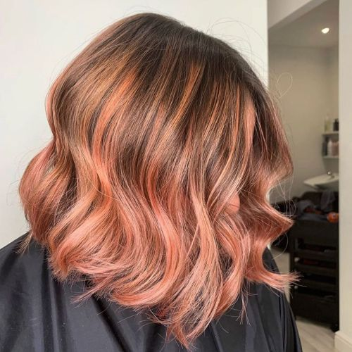 Everyday Wear Pastel Peach Highlights