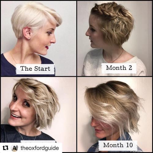 Pixie Braid to Grow Out Hair