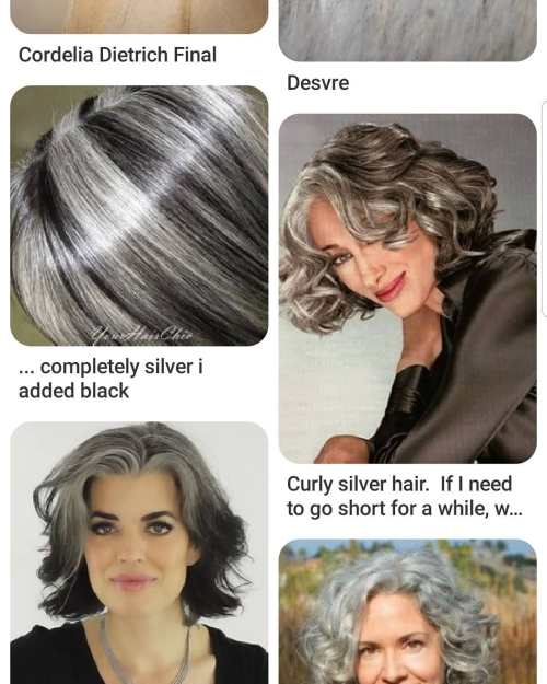 8 Tips For Women With Gray Curly Hair To Embrace Its Natural Color And Texture
