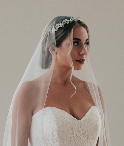 Bridal Headband and Veil