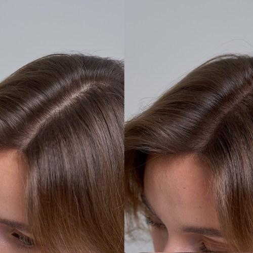 Using Root Powder to Make Thin Hair Seem Thicker