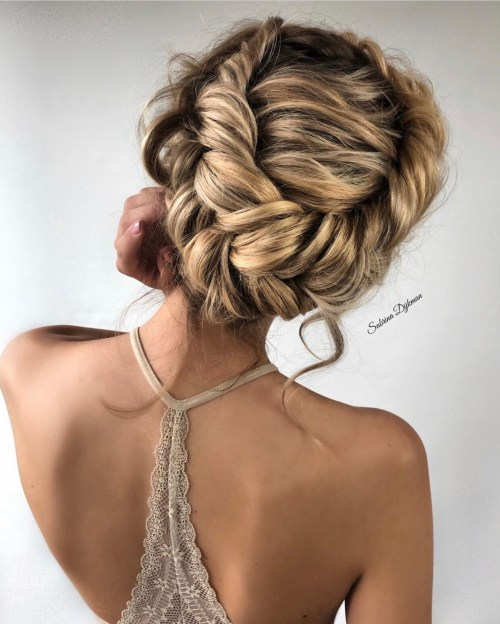 Voluminous Crown Braid