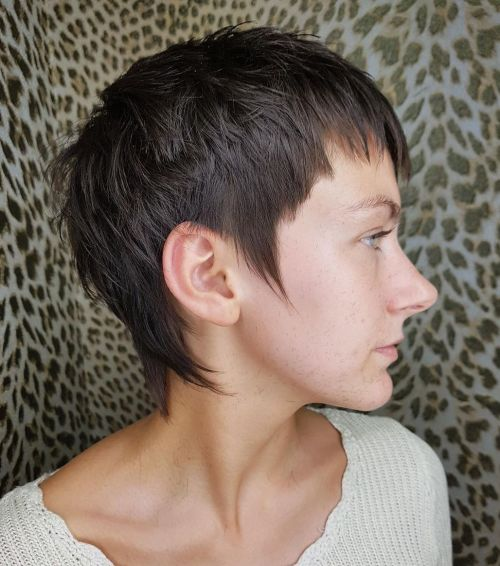 Haircut that Needs no Heat Styling