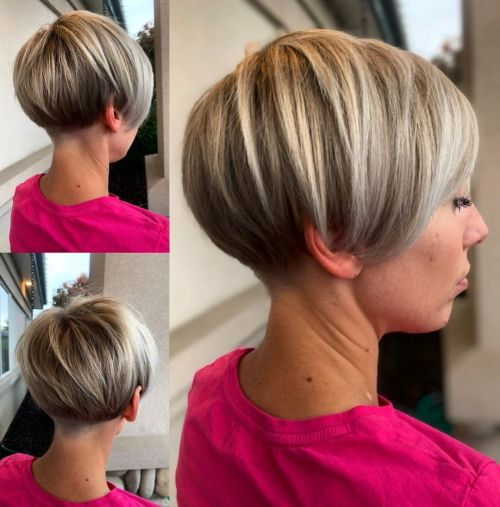 Pixy Bob Hairstyle for Thick Hair