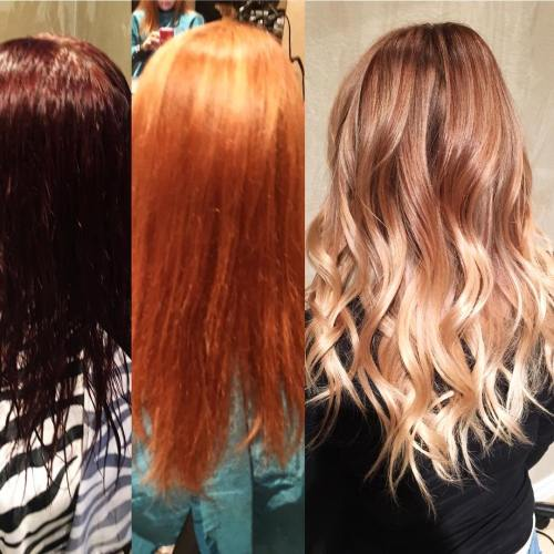 Fixing Orange Roots After Dyeing Hair