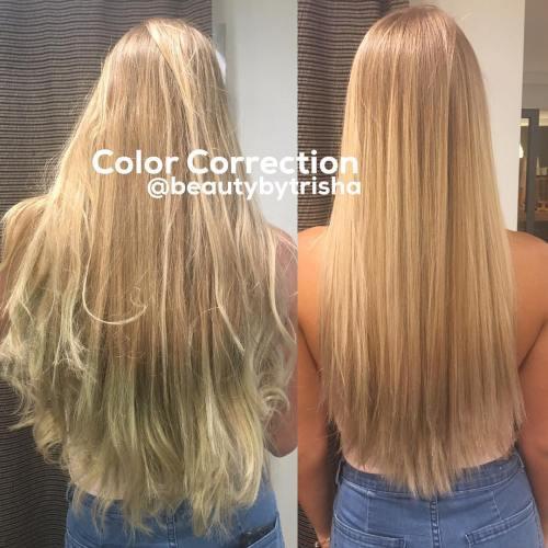 Using Grren Hair Dye Mistake